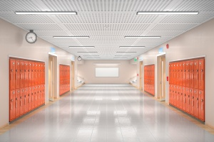 school hallways that should get Abuse & molestation insurance