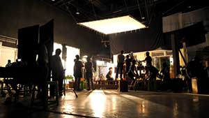 TV show in production covered by a media liability insurance policy