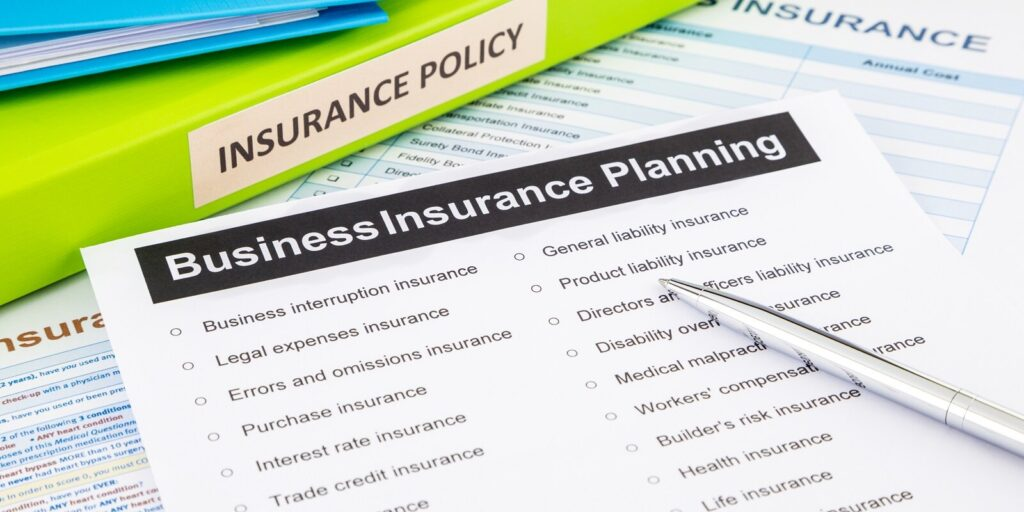 Business Insurance Planning Chart- Business Insurance Policies