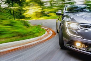 car driving with Auto Insurance