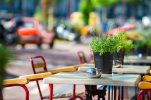 Restaurant  with General liability insurance