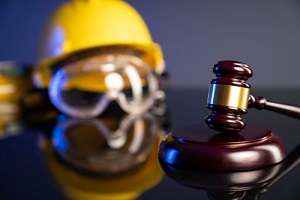 damage compensation concept with Labor and construction law
