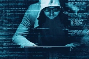 hacker trying to steal data without cyber liability insurance